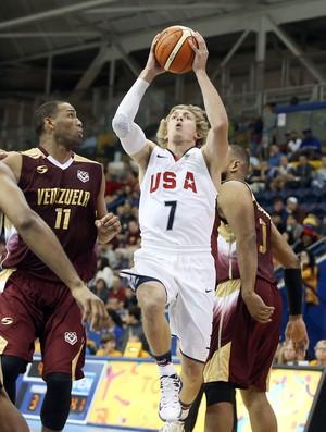 Ronald Baker, do Wichita State, integra a seleção americana no Pan (Foto: Tom Szczerbowski/Reuters)