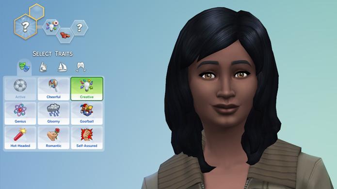 The Sims 4 traz de volta os traços de personalidade (Foto: Reprodução/Tais Carvalho)