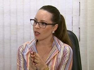 a advogada Tayla Pires (Foto: Reprodução/ EPTV)