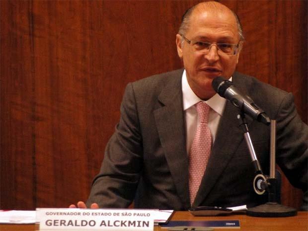 Governador informou que a Fatec será construída em área do Estado (Foto: Eduardo Guidini/ G1)