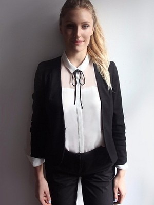 Matilda Kahl e seu uniforme (Foto: Reprodução/ Instagram)