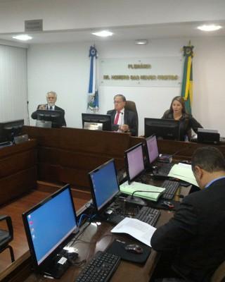 TJD-RJ julgamento Botafogo (Foto: Vicente Seda)