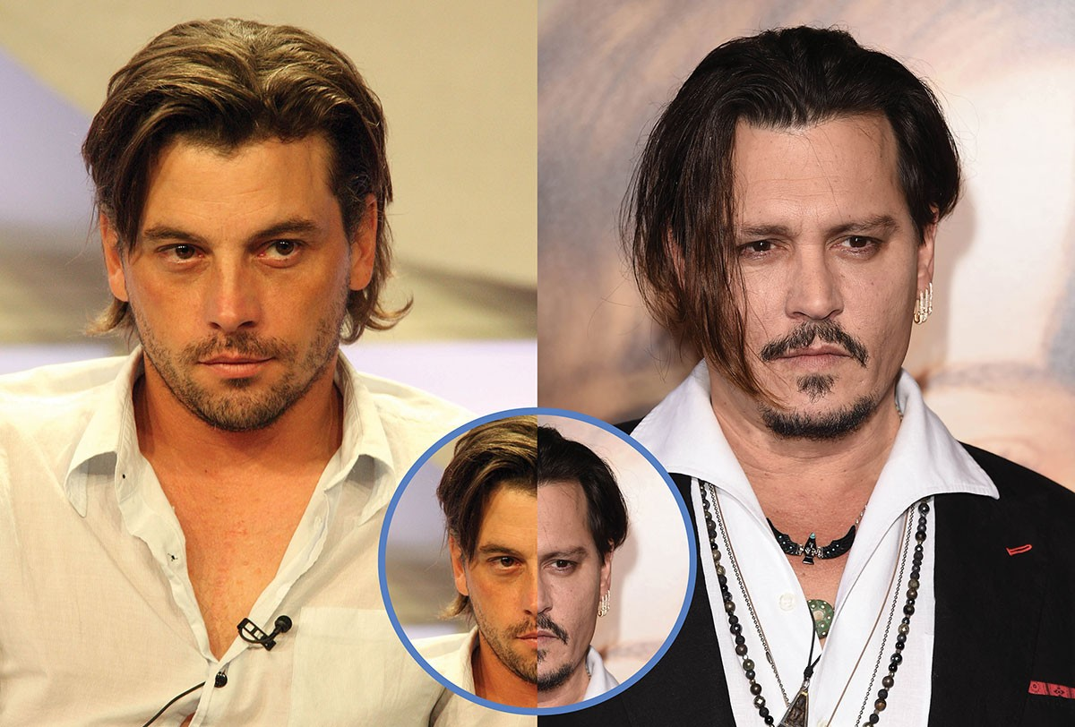 Skeet Ulrich e Johnny Depp (Foto: Getty Images)