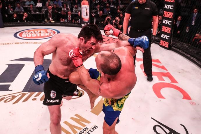 Chael Sonnen x Wanderlei Silva Bellator 180 (Foto: Bellator MMA / Lucas Noonan)