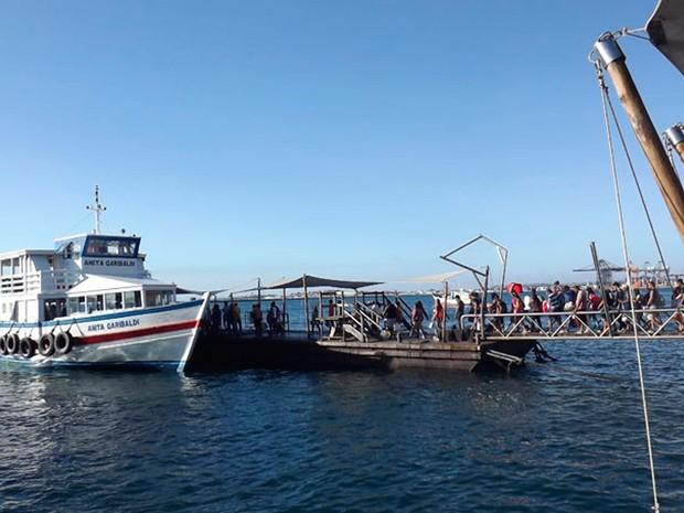 Travessia Salvador - Mar Grande tem espera de 20 minutos nesta sexta-feira (Foto: Divulgação)