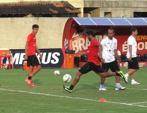 Ibson treino Flamengo (Foto: Richard Souza)