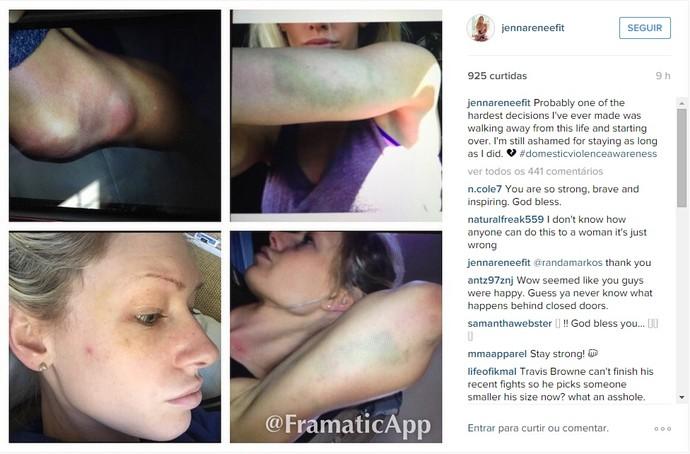Jenna Renné, Travis Browne (Foto: Reprodução/ Instagram)