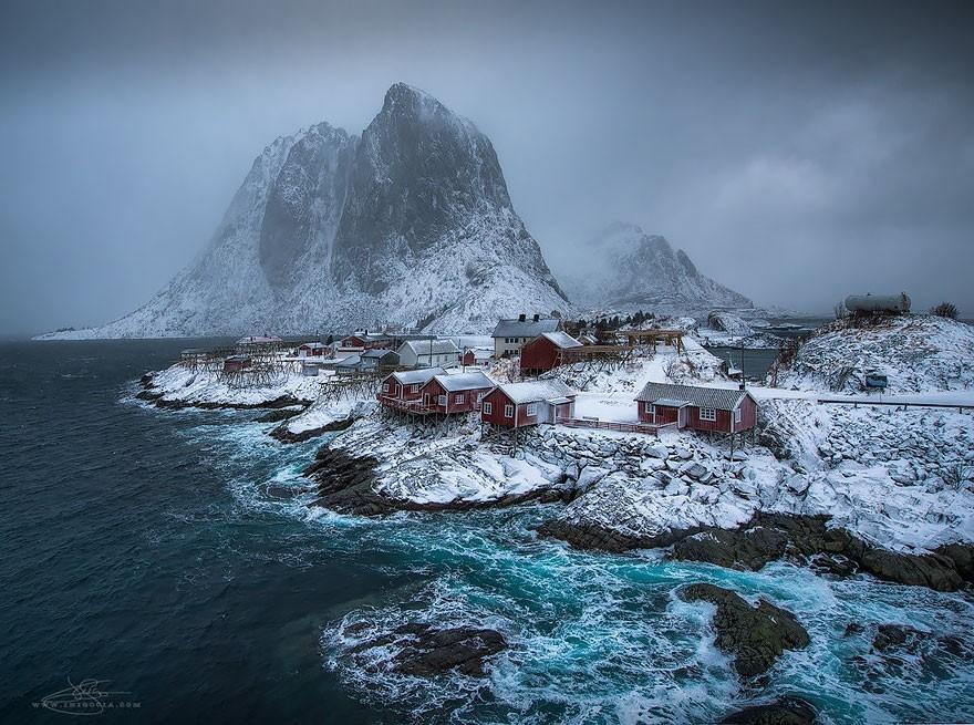 Hamnoy, na Noruega (Foto: Divulgação)