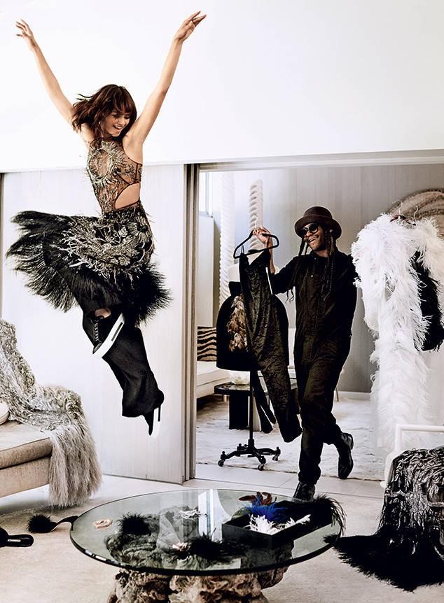 Zendaya para Vogue US (Foto: Mario Testino)