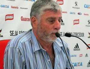 Médico do Flamengo, José Luiz Runco (Foto: Thales Soares)