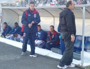 Ricardinho no jogo do Paraná Clube x Júnior Team (Foto: Maeva Moraes/Globoesporte.com)