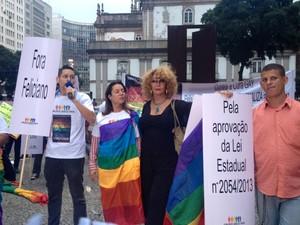 Julio Moreira quer legislação contra homofobia (Foto: Priscilla Souza)