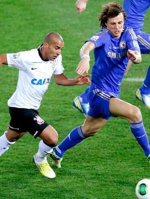 David Luiz na partida do Chelsea no Mundial contra o Corinthians (Foto: Reuters)