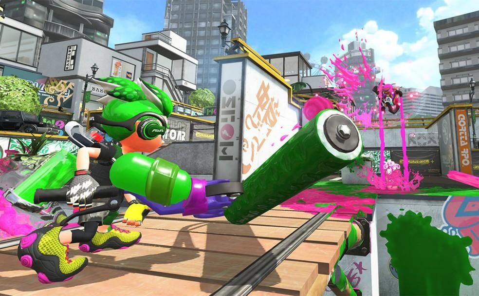 'Splatoon 2' aposta na portabilidade do Nintendo Switch com mais modos multiplayer (Foto: Divulgação)