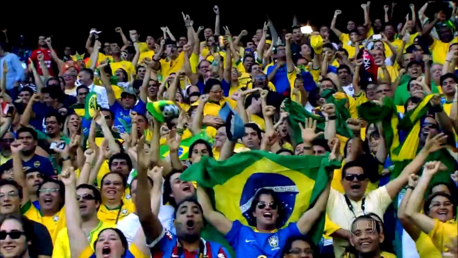 Torcida brasileira na Copa do Mundo (Foto: Divulgação)