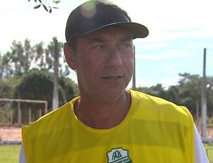 Cícero Lanza, técnico da Francana (Foto: Reprodução EPTV)
