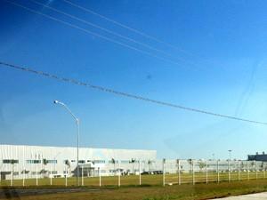 fábrica da hyundai em piracicaba (Foto: Luciana de Oliveira/G1)