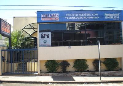 Unidade da rede College Personal English (Foto: Divulgação)