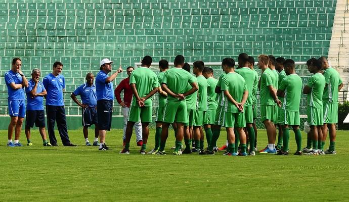 Guarani treino Brinco de Ouro (Foto: Rodrigo Villalba / Memory Press)