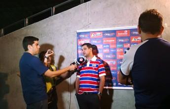 """Para """"não atrapalhar"""", Marquinhos Santos não viaja com Fortaleza"""