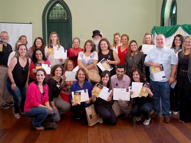Empresas de turismo de Petrópolis recebem certificado do Sebrae (Foto: Gisele Rocha)