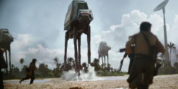 Robô de Star Wars vira casa de brinquedo  (Foto: Reprodução)