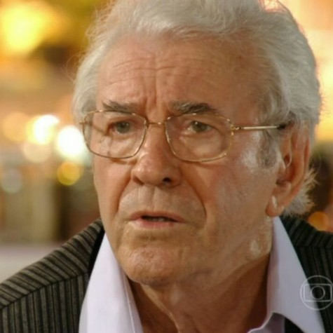 Juca de Oliveira em cena como Samuel (Foto: Reprodução)