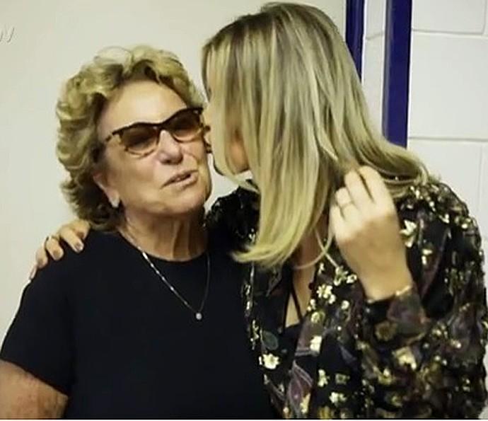 Mãe de Fê Lima diz que foi um baque ver a filha sair de casa (Foto: Gshow)