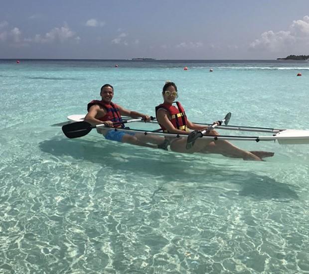Wesley Safadão e a mulher, Thyane Dantas (Foto: Reprodução/Instagram)