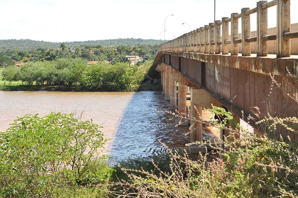Corpo de jovem foi jogado no rio Parnaíba (Foto: Jaillton Silva/ Portal Uruçuí)