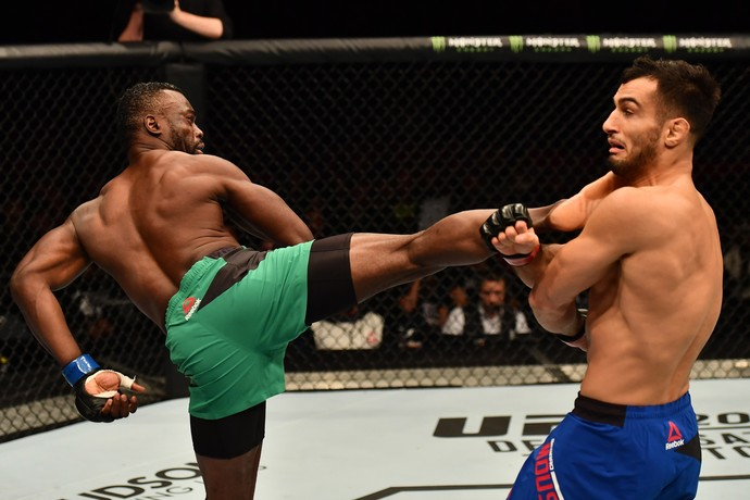 Gegard Mousasi, Uriah Hall, UFC Belfast, MMA (Foto: Getty Images)