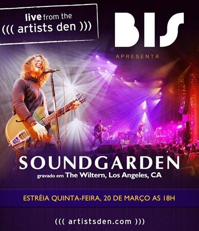 soundgarden live from the artists den (Foto: Divulgao)