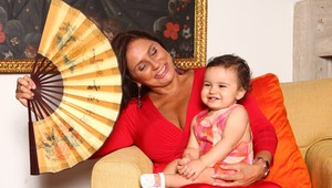 Galeria - Fafá e Mariana Belém, com Laurinha (Foto: Iwi Onodera / EGO)