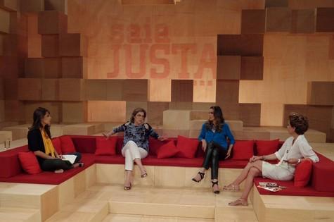 As quatro apresentadoras do 'Saia justa' (Foto: Divulgação/GNT)