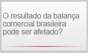 O resultado da balança comercial brasileira pode ser afetado? (Foto: G1)