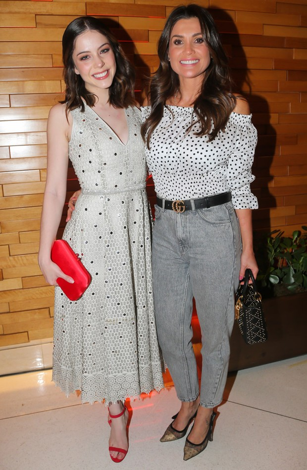 Bia Arantes e Flávia Alessandra (Foto: Manuela Scarpa/Brazil News)