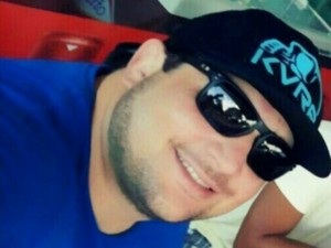 Rafael Martinelli Queiroz, 27 anos, lutador suspeito de matar hóspede de hotel em MS (Foto: Reprodução/ TV Morena)