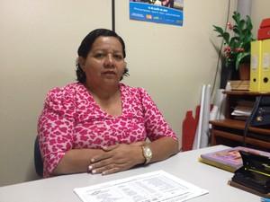 Nádia Silva Souto, presidente do Conselho Estadual dos Direitos da Pessoa Idosa  (Foto: Dyepeson Martins/G1)
