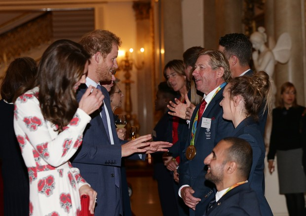 Kate Middleton e o Príncipe Harry (Foto: Getty Images)