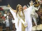 Com enredo sobre Elis Regina, Maria Rita desfila pela campeã Vai-Vai