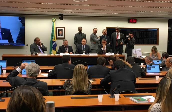 Câmara dos Deputados instala CPI da CBF e Fifa (Foto: Lucas Magalhães)