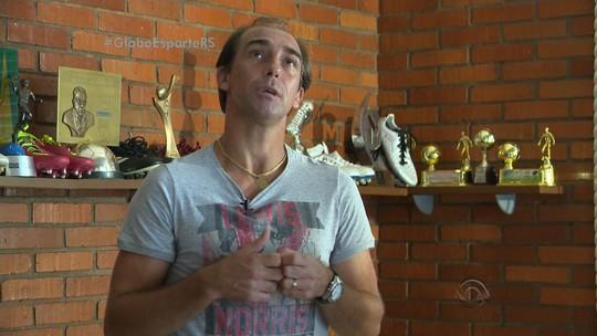 """Aos 41, Paulo Baier vislumbra fim de ciclo no São Luiz-RS: """"Está acabando"""""""