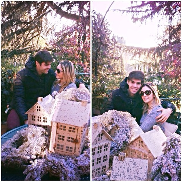 Carol Celico e Kaká (Foto: Instagram / Reprodução)