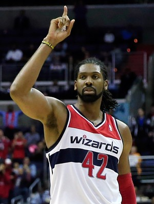 basquete Nene Wizards x Minnesota Timberwolves  (Foto: Getty Images)
