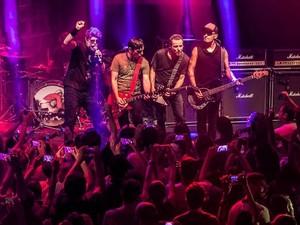 Com 34 anos de estrada, banda segue com os sucessos a longo prazo  (Foto: Silmara Ciuffa)