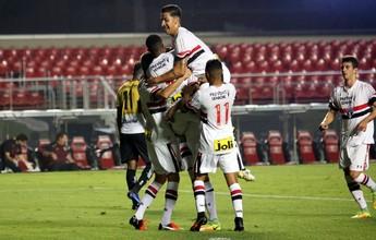 São Paulo goleia o Criciúma e abre vantagem na Copa do Brasil sub-20