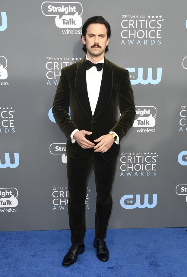 Milo Ventimiglia de Ralph Lauren (Foto: Getty Images)