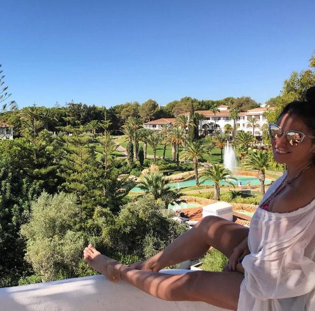Giovanna: feliz na terrinha (Foto: Reprodução Instagram)