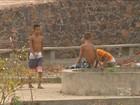 Moradores reclamam da situação de abandono em praças de Caxias, MA