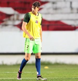 Luan Peres Santa Cruz (Foto: Marlon Costa/ Pernambuco Press)